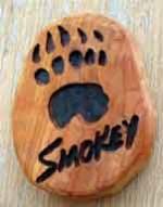Smokey Paw Print - Product Image