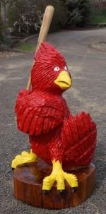 3' Cardinals Mascot - Product Image