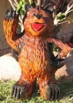 One Finger Salute Bear - Product Image