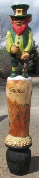 7' Irish Totem - Product Image