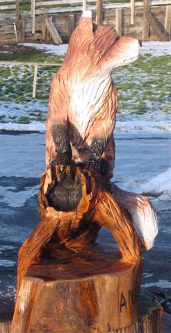 Fox Carving
