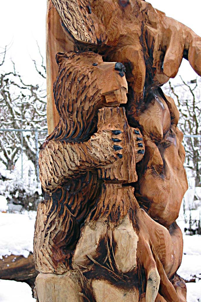 The gallery for gt beaver totem pole
