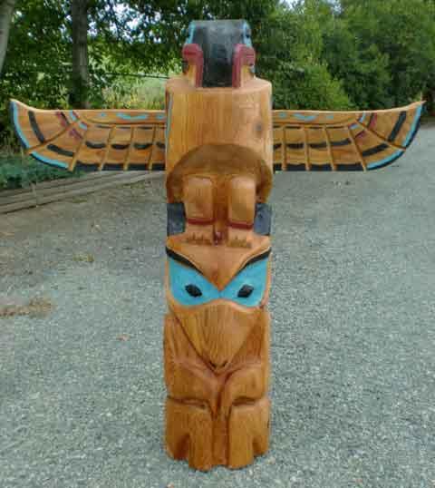 5' Thunderbird and Wolf - Product Image