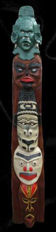 Mask Totem Pole - Product Image