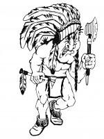 Custom Life Size Chief Mascot - Product Image